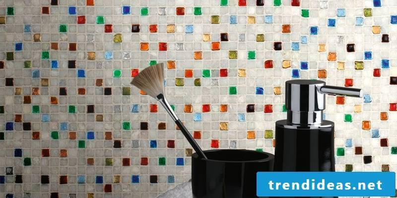glass mosaic colorful