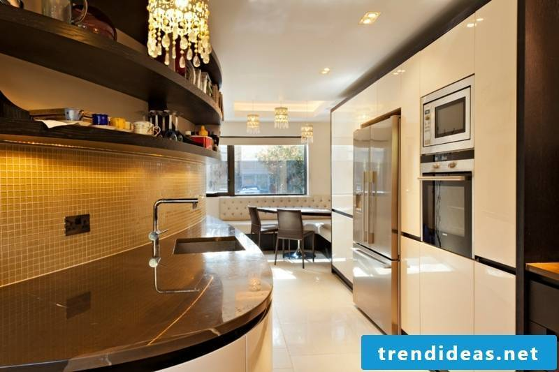 glass mosaic kitchen ideas