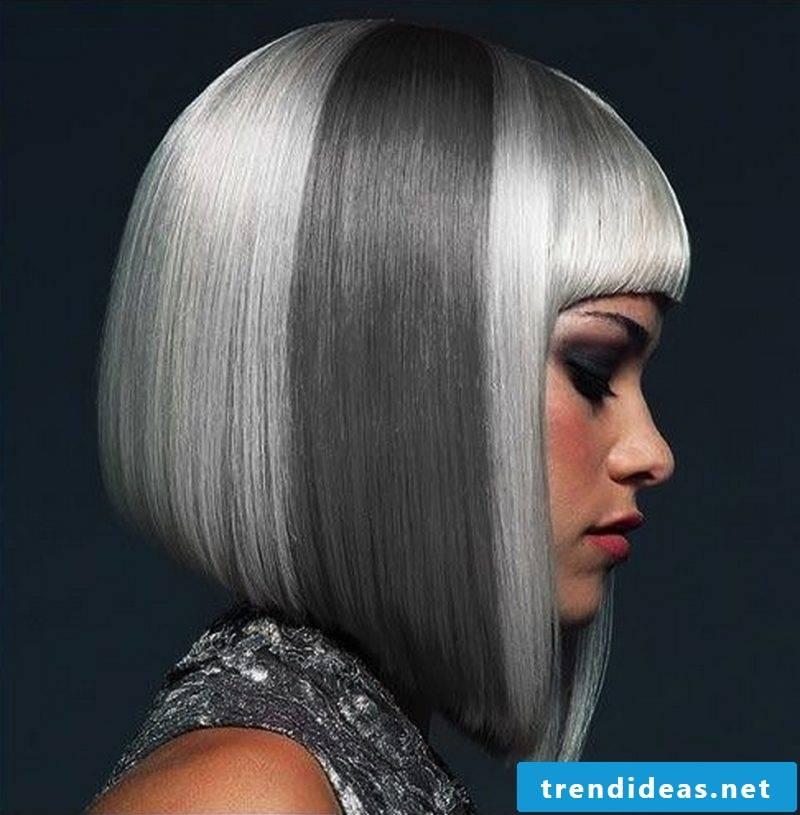 Gray hair trend