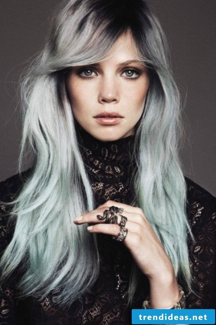 Gray hair -
