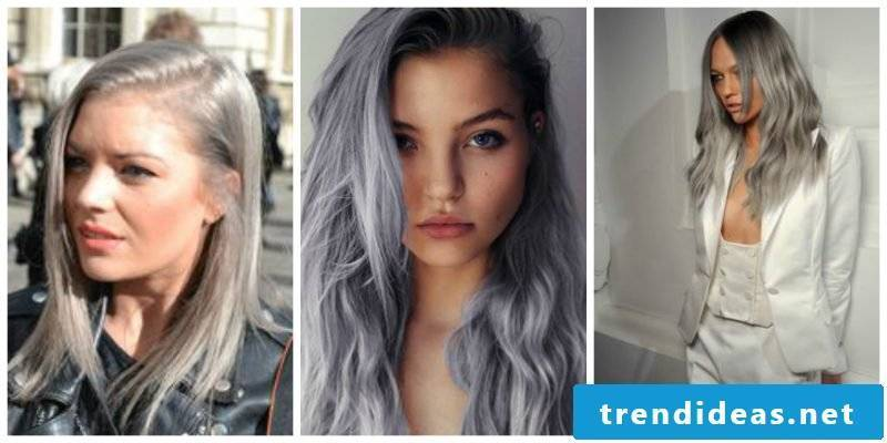 Hairstyles ideas for gray hair