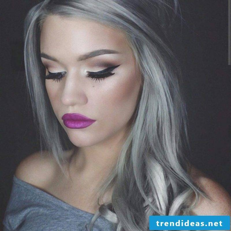 Shades of gray - the new trend for hairstyle
