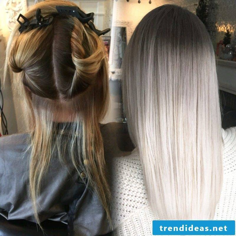 Dyeing gray hair: this is how it works!