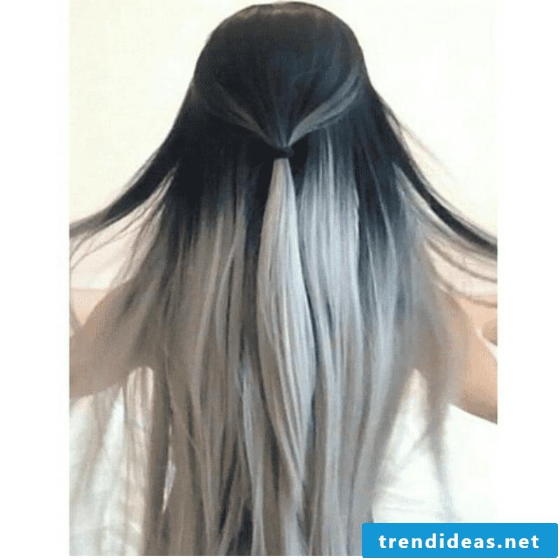 Grays - Ombré gray hair