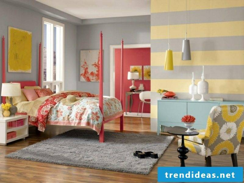 Gray wall color bedroom great color combinations
