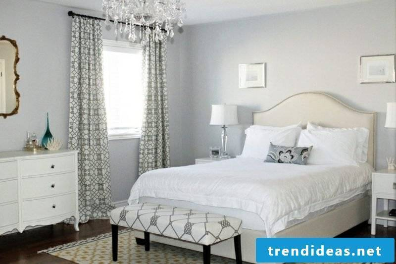 Bedroom wall paint light gray modern gorgeous look