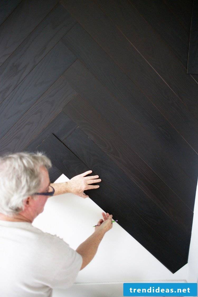 Do-it-yourself home decorating wall coverings - Step 5