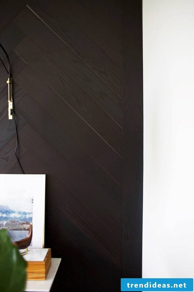 Do-it-yourself home decor for wall cladding in 6 steps
