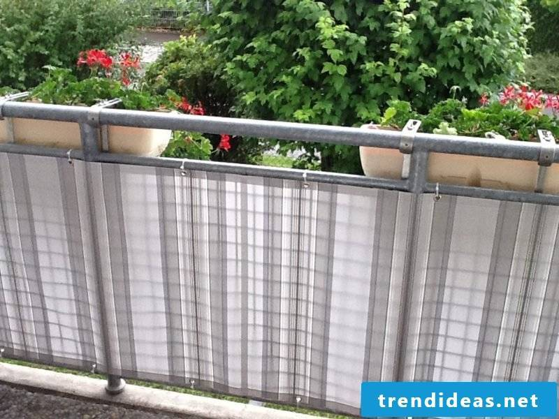 Balcony paneling modern fabric