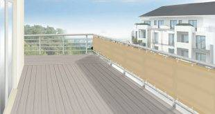 Great ideas and suitable materials for balcony paneling