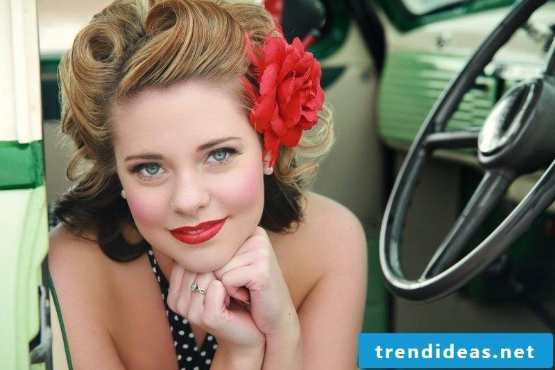 pin-up hairstyles Idea