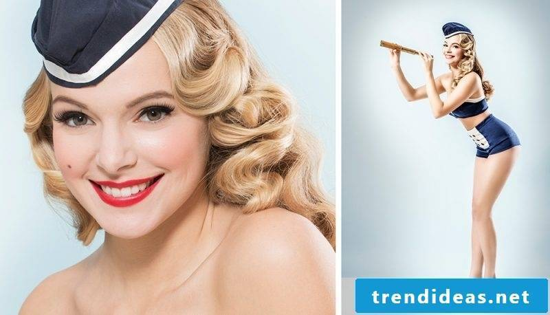 pin-up hairstyles-curly