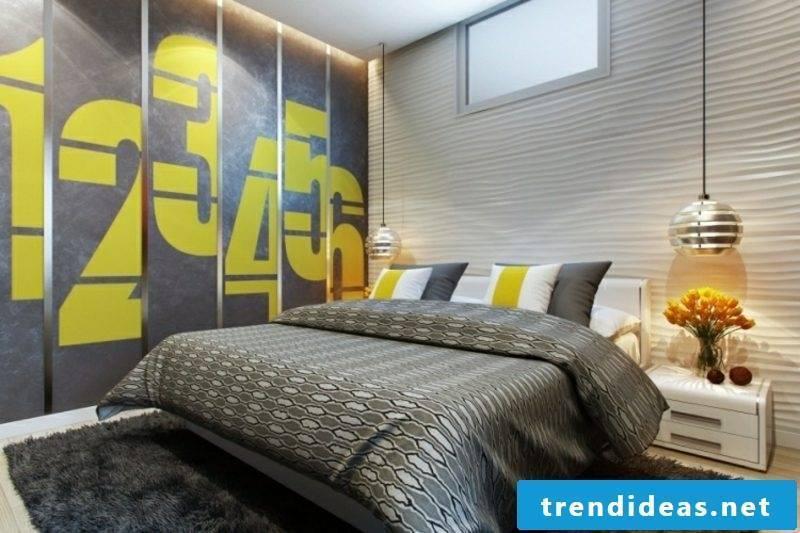 Walls frame bedroom 3D wall panels