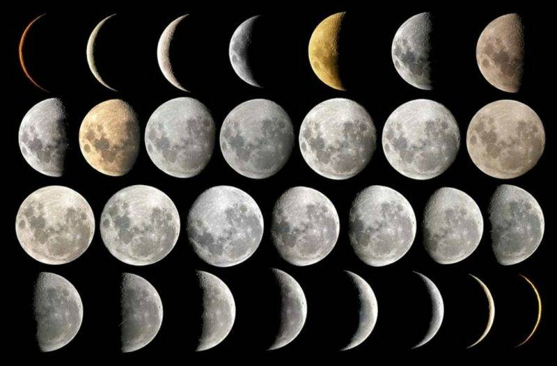 Moon phases different haircuts