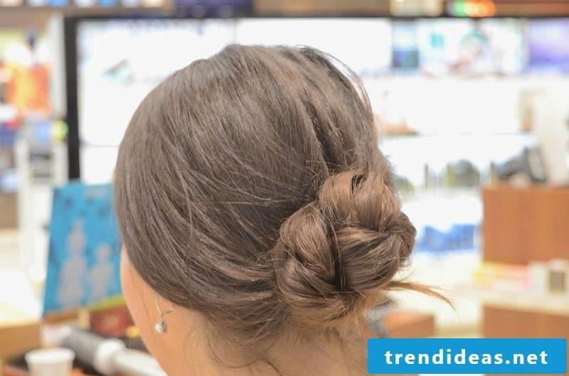 Hairstyles ladies long hair knotendutt