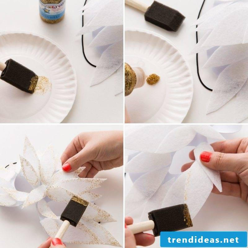 Instructions and craft templates for Halloween mask