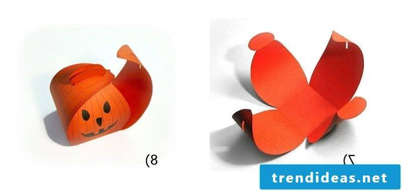 Crafting templates for Halloween Box: Instructions