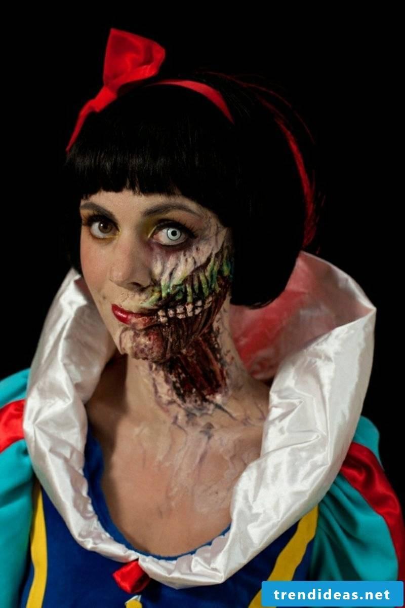 Costumes Ladies Halloween Snow White scary