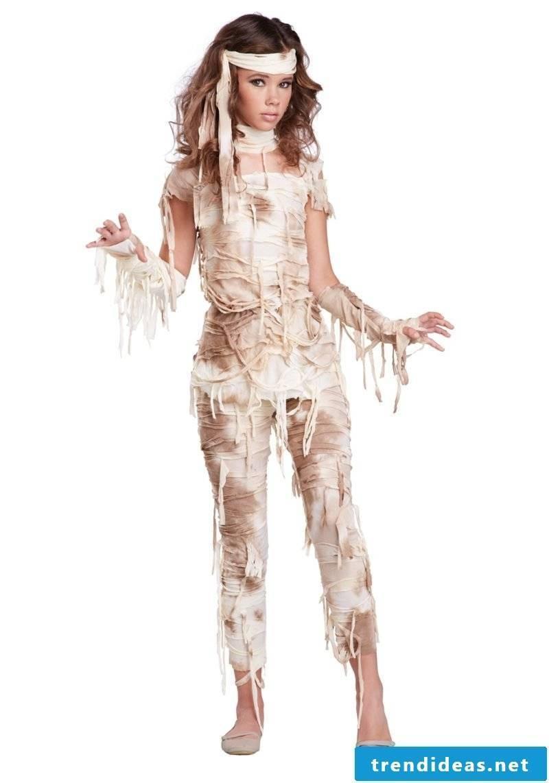 Halloween costume ladies original mummy