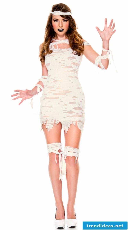 Costumes Halloween original ideas mummy