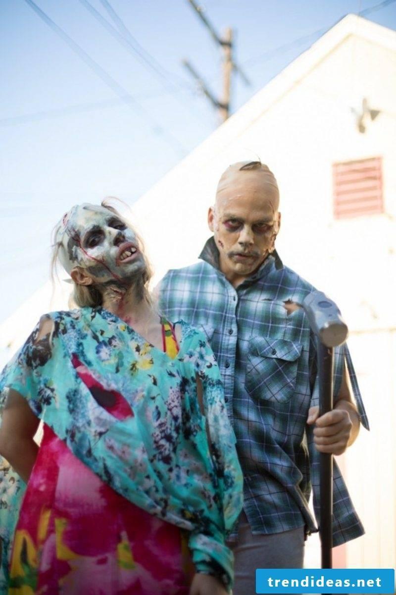 Costumes Ladies Halloween scary zombie