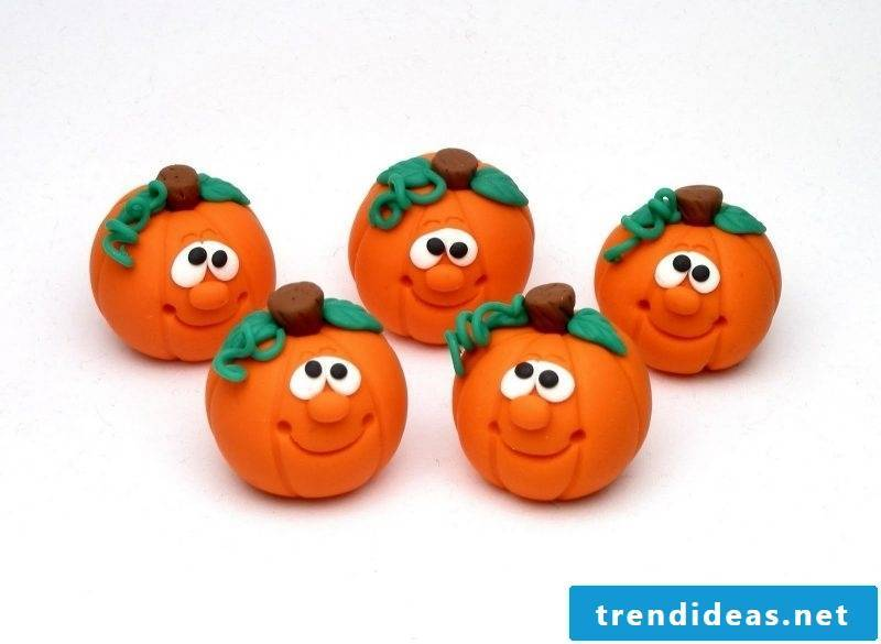 Craft for Halloween with our creative polymer clay ideas