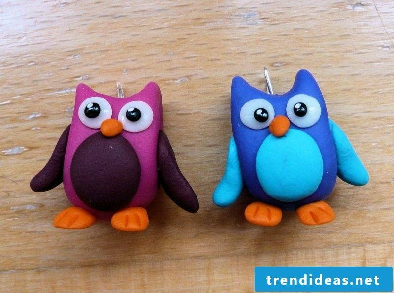 Fimo ideas can be used as jewelry or decoration