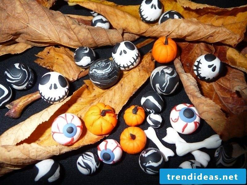 These polymer clay idols are also suitable for smaller children