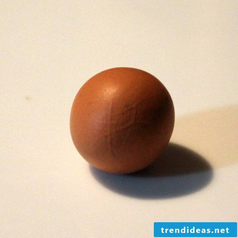 Fimo Ideas for Pumpkin: Instructions Step 1