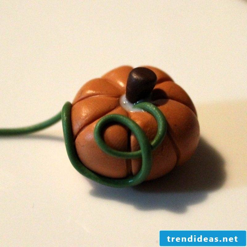 Fimo Ideas for Pumpkin: Instructions Step 5