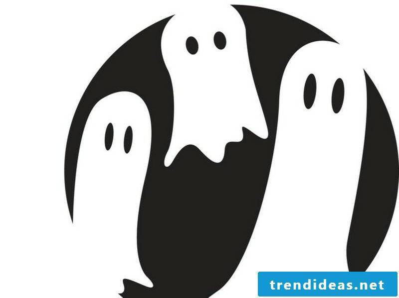 Halloween pumpkin carving templates ghosts