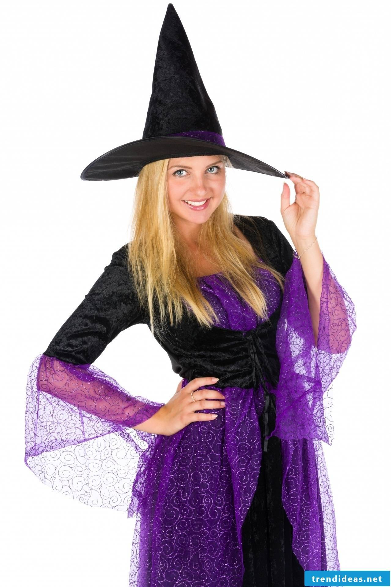 Witch costume to make yourself