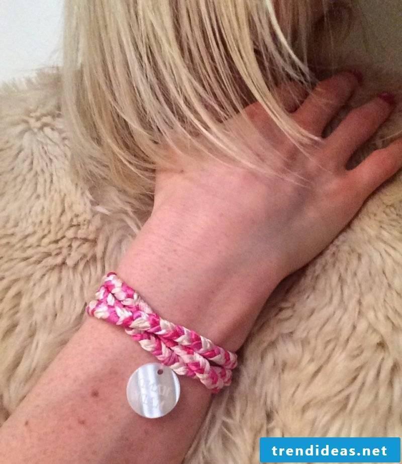 DIY bracelet jewelry