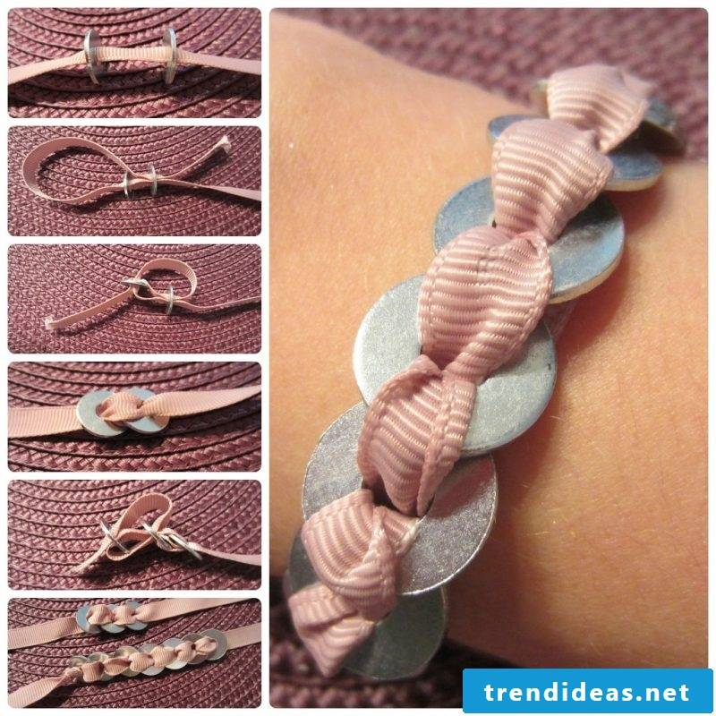 DIY bracelet instructions