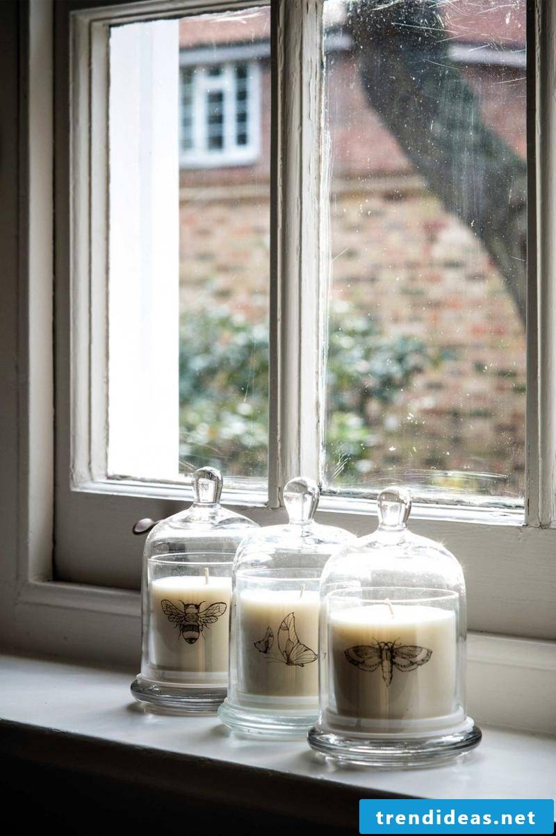 Hygge candles as well-being