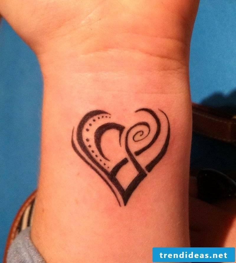 Heart Tattoo Cool Tribal