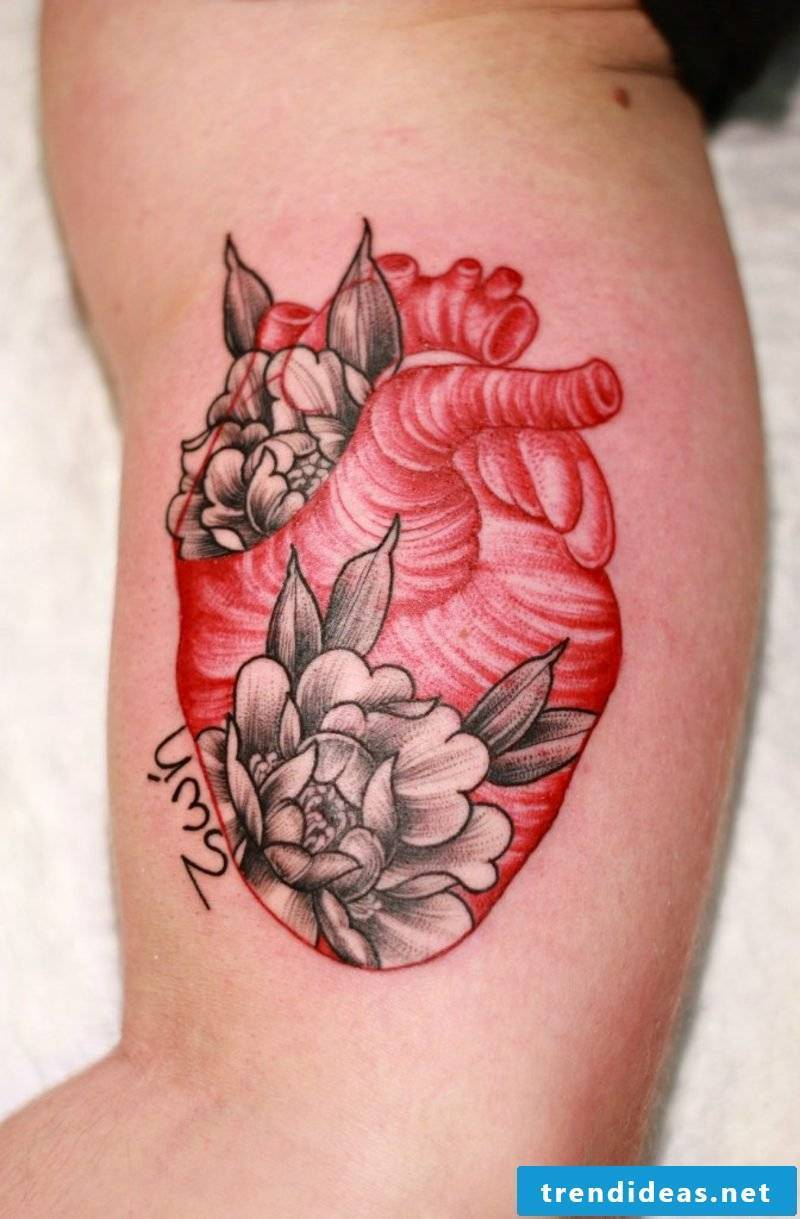 Heart tattoo heart tattoo