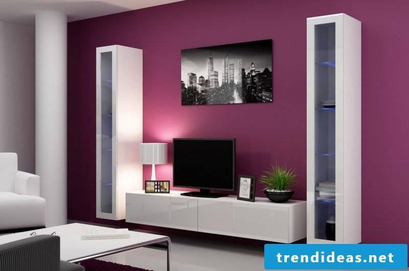 Media furniture: extravagance and comfort!