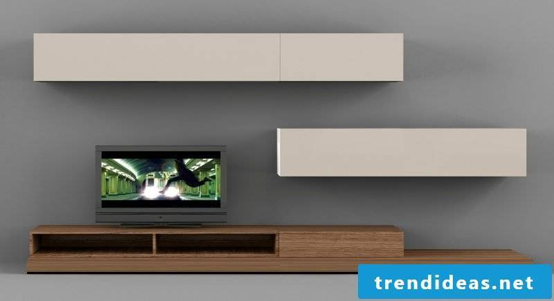 Media furniture with a chramant design for a relaxed home cinema!
