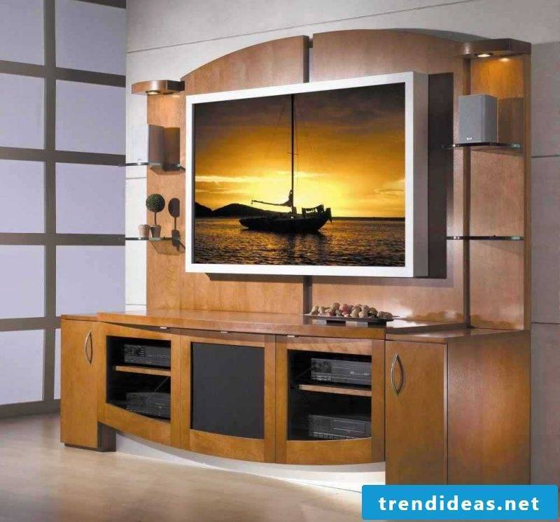 Media Furniture: Who says the TV should be visible?