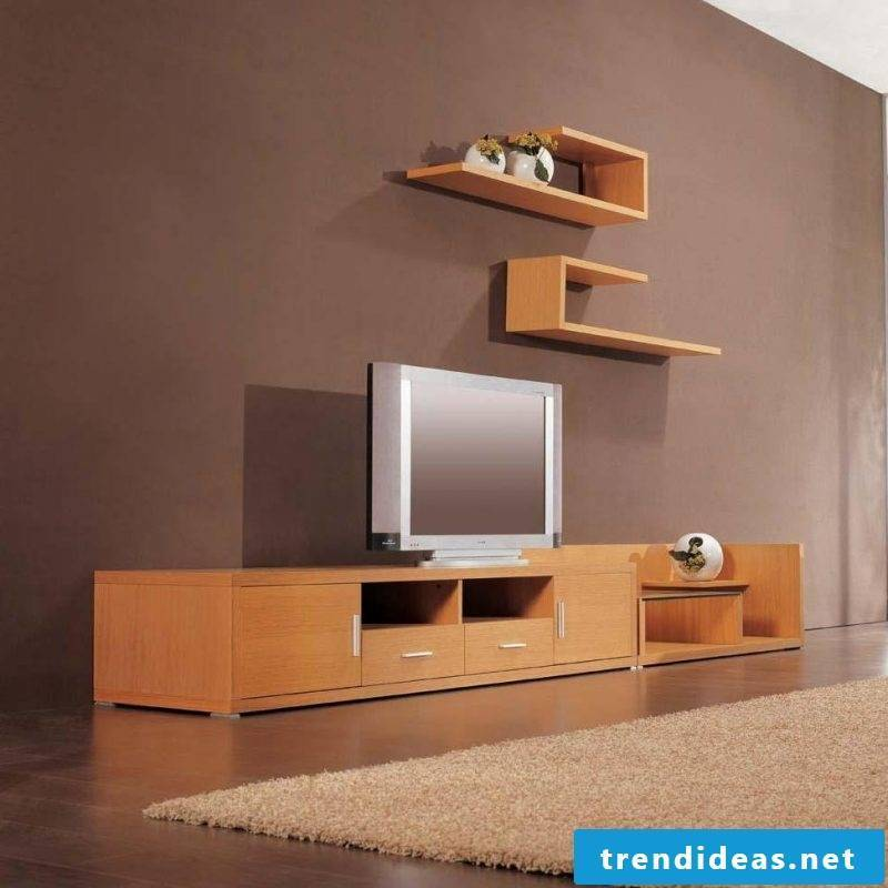 Media furniture demand space, but they can also save space!