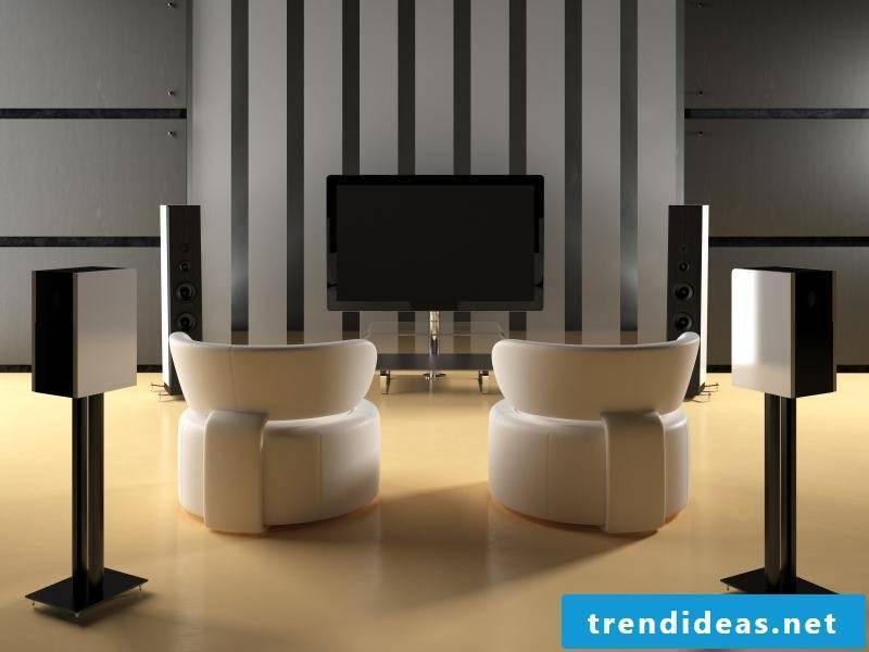 Modern meida furniture will help you to set up!