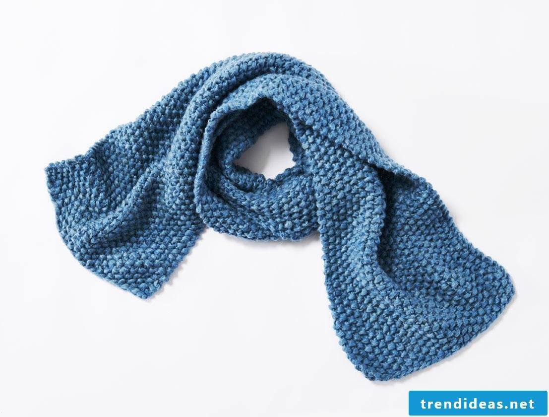 Ideas for scarf knitting for beginners