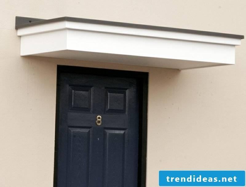 house roof flat