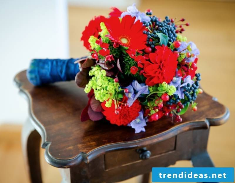 Bridal bouquet. Creative design ideas