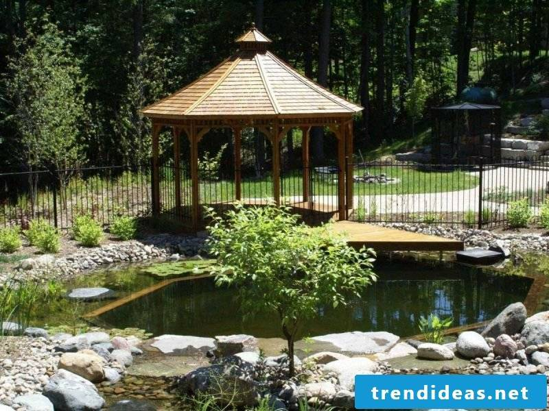 make swimming pond cost