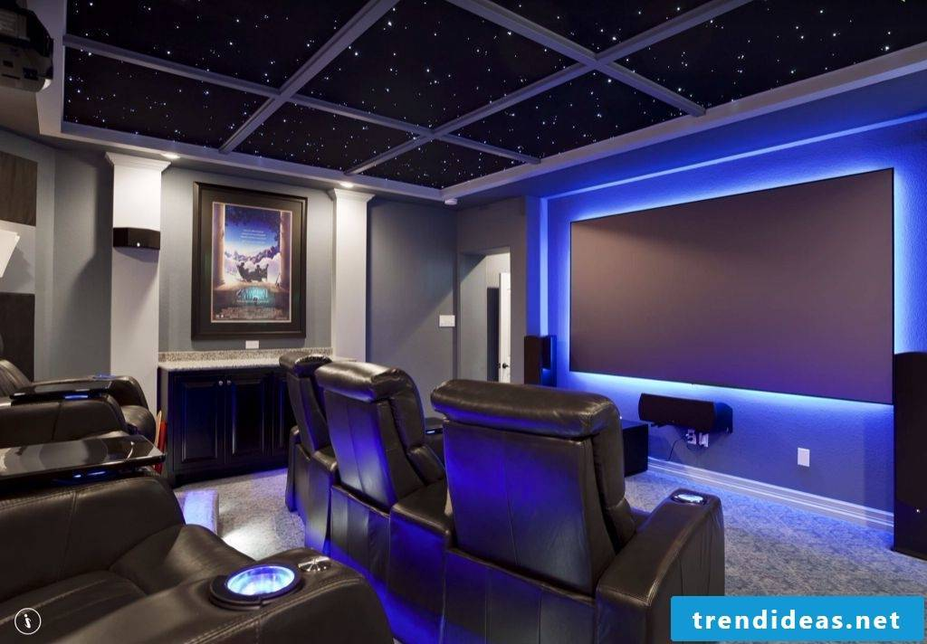 Build Stressless Home Theater Yourself - DIY Ideas Instructions
