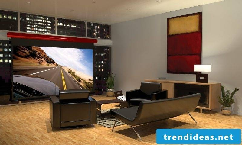Build your own stressless home theater - build projector and frame screen
