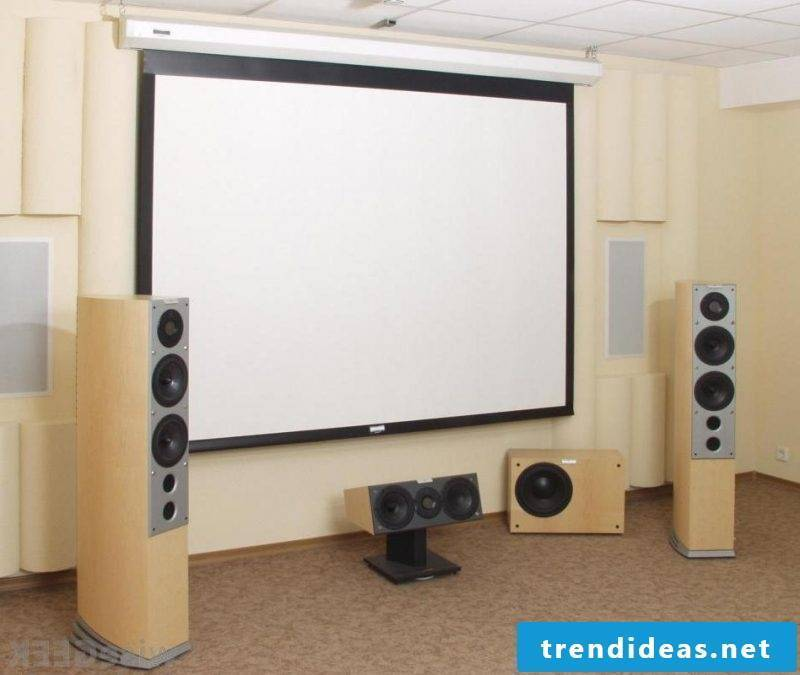 Stressless home cinema: 5 important components of home cinema - build your own frame screen