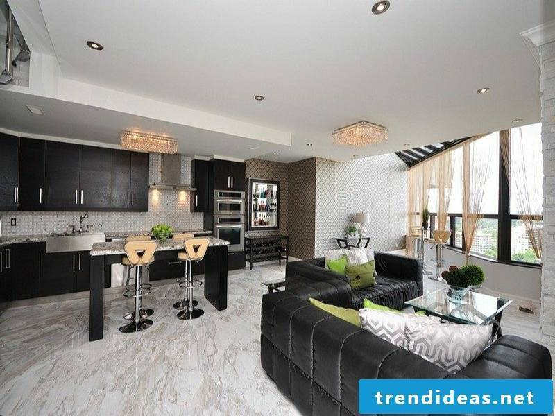 large beautiful flooring with marble tiles